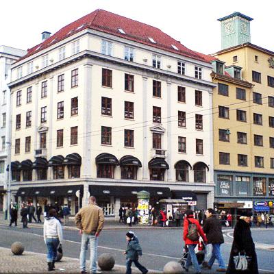 Våre kontorer i Strandgaten, Bergen